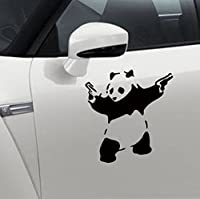 Domire The panda carved car stickers waterproof