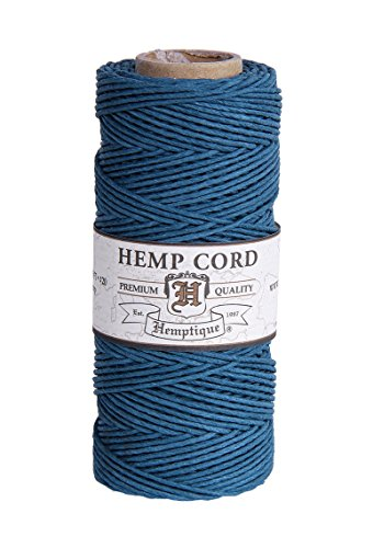 Bobine de corde de chanvre couleur prune par Hemptique