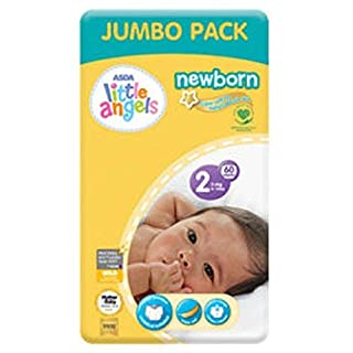 ASDA Little Angels Newborn Nappies Size 2 Big Saver Pack