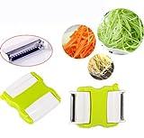 Takestop® Cortador de verduras Peeler pelador para cocina Talla verduras zanahoria patatas calabacines Juliana