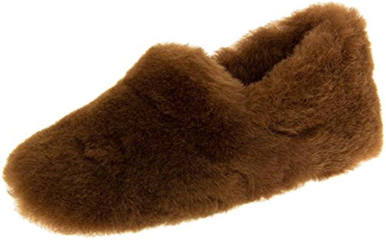 Somerset Footwear Ltd. Mujer Piel de oveja Zapatillas Royal Luxury