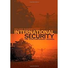 International Security: The Contemporary Agenda