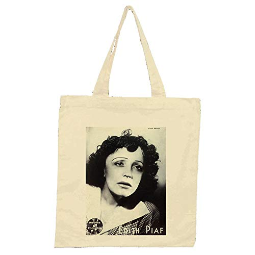 Edith Piaf Little Sparrow naturel sac fourre-tout