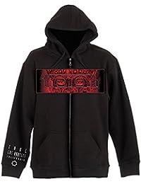 Tool Red Face Sudadera capucha con cremallera Negro L