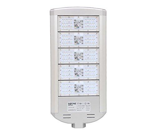 lampada LED per lampione, 200 W, per l'illuminazione stradale, colore dell'illuminazione: bianco freddo, temperatura del colore: 5700K, 50.000 ore [classe di efficienza energetica A+]