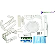 Digital Gaming World® Multi Sports Pack Accessories Kit For Wii & Wii–U Console Games.(**Suitable For Wii & Wii-U Remotes)