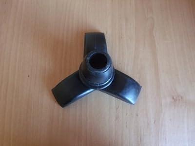 Tri Support Rubber Ferrule for Walking Sticks