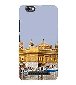 PrintVisa Sikh Temple 3D Hard Polycarbonate Designer Back Case Cover for Lenovo Vibe C :: Lenovo A2020