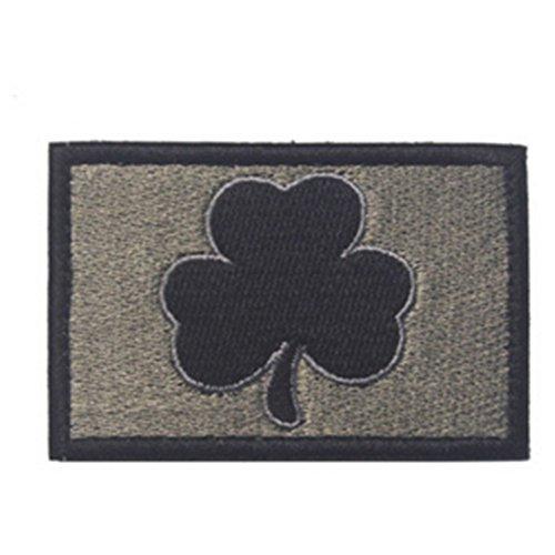 Kingnew Irish Shamrock gestickt Patch Irland Eisen auf nähen auf Patch Irish Patch Cap
