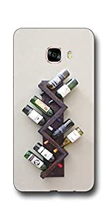 SEI HEI KI Designer Back Cover For Samsung Galaxy C5 - Multicolor