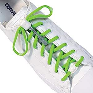 Greeper Sport Laces - Assorted Colours (Green)