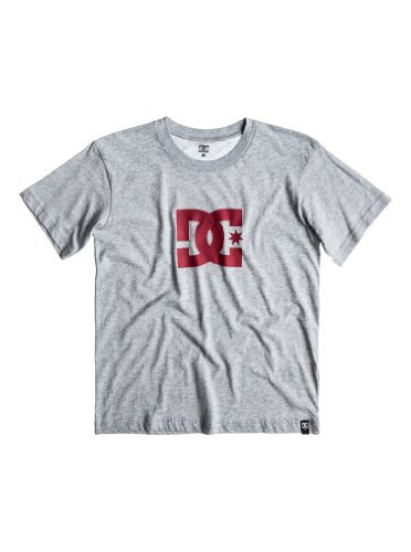 DC Shoes Jungen T-Shirt Star Short Sleeve, heather grey, X Large, DPBJE022 HTRD -