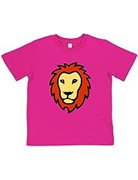 Kids' Lion T-Shirt | Blue or Pink | Organic Cotton | By Paw Prints