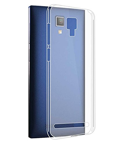 Stromax Transparent Back Cover For Micromax Canvas Xpress 4G Q413
