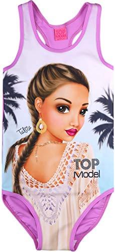 Top Model Mädchen Badeanzug Talita 89005 (128, Lila)