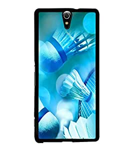 PRINTVISA Sports Badminton Case Cover for Sony Xperia C5 Ultra Dual::Sony Xperia C5 E5553 E5506::Sony Xperia C5 Ultra