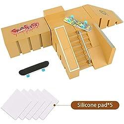 KidsHobby 5PCS Kit de Rampas Skatepark