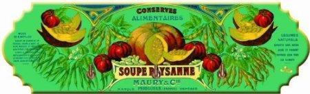 ACCROCHE TORCHONS SERVIETTES METAL SOUPE PAYSANNE - AT183