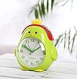 dnbkuajing1 Luces-Despertador Reloj Despertador Multifuncional para niños Que Habla Junto a la Cama Mute Estudiante pequeño Reloj