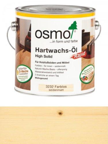 OSMO Hartwachs-Öl 3232 2,5 L Rapid