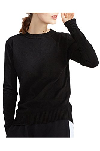 Le Donne In Solido A Caldo Inverno Pullover Top 4