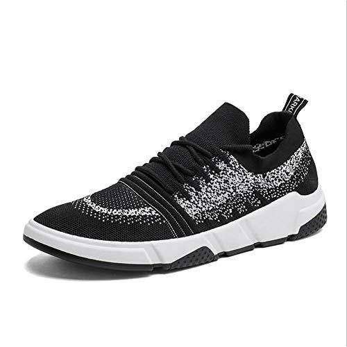 2018 Scarpe da Uomo, Sneakers a Rete Autunno-Inverno, Sneakers Basse Stringate, Scarpe da Corsa Casual da Uomo, Comfort Traspirante Casual/Trekking da Viaggio