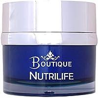 Boutique - Crema facial nutritiva Nutrilife, Multivitaminica con aceite de Jojoba y melatonina - 50
