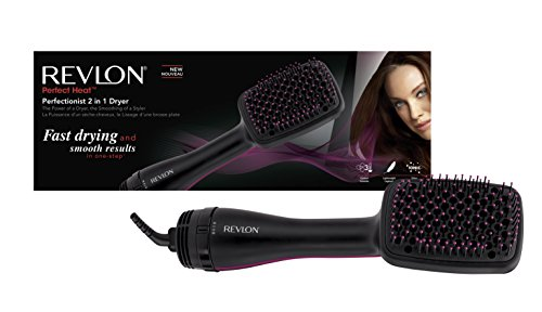 Revlon RVHA6475UK Perfectionist Haarbürste mit Trocknungsfunktion (Brush Blow Dry)
