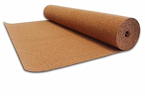 Bodentrend Rollenkork - 10 m² in 2 - 10 mm Stärke (2 mm)