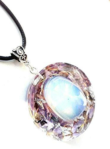 halskette orgonit Opal Anhänger, Charoit, Reiki, Meditation, Neues Zeitalter