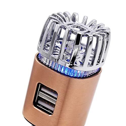 MCalle Auto Luftreiniger Lufterfrischer Ionisator DUAL USB (Kupfer)