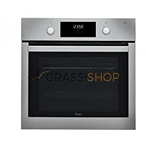 Whirlpool AKP 744 IX - ovens (Built-in, Electric, A, Black, Stainless steel, Rotary, Front)