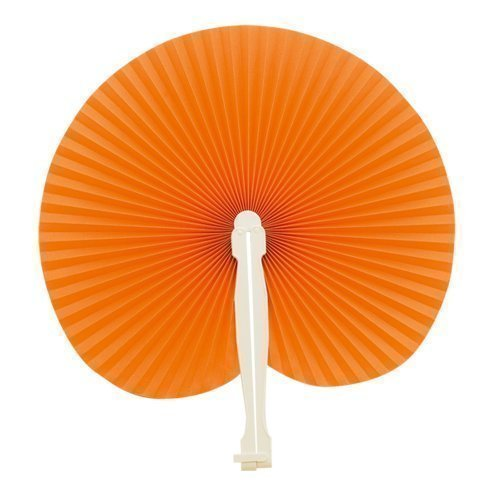 eBuyGB 1258810 - Bolsa de papel de mano para regalo de boda, accesorio de verano, color naranja