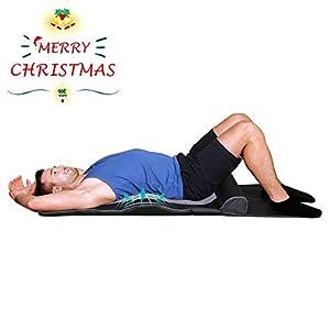 Naipo Yoga Massage Matte Stretching matte mit Wärmefunktion, 4 Stretching-Programme, 3 einstellbare Intensitäten zur Entspannung ganzen Körpers, Flexibilität verbessern, leicht zu Falten, Verstauen