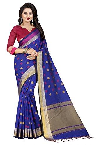Macube Women's Clothing Saree Today best offers buy Designer Cotton Silk Saree...