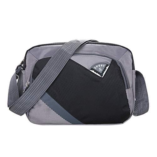 Prada Satchel Bag (Mitlfuny handbemalte Ledertasche, Schultertasche, Geschenk, Handgefertigte Tasche,Männer Frauen Nylon wasserdichte große Kapazität Schulter Messenger Crossbody Taschen)