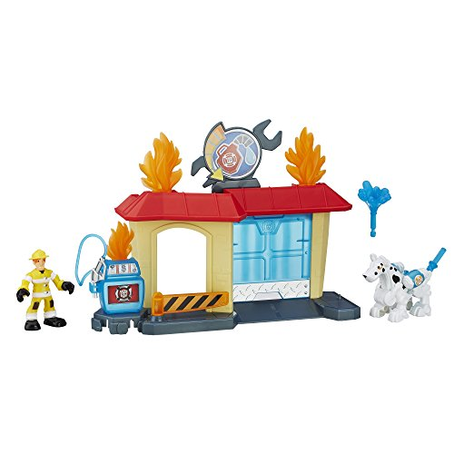 Playskool Heroes Transformers Rescue Bots Griffin Rock Garage by Transformers