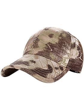 Camuflaje Gorra de béisbol ajustable sombrero para Camping senderismo deportes al aire libre, Desert Digital Pattern...