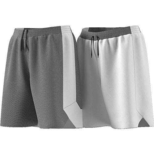 ADIDAS Damen Reversible Crazy Explosive Shorts, Black/White, S