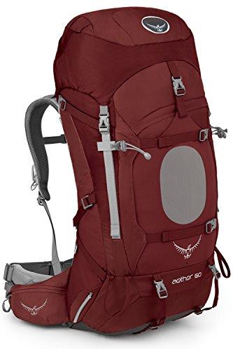 Osprey Herren Aether 60 Backpack Arroyo Red