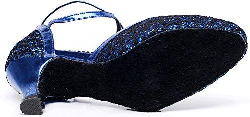 CFP , Damen Tanzschuhe Blau blau - 4