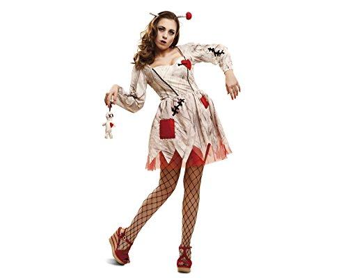 Imagen de my other me  disfraz de muñeca vudú, para adultos, talla m l viving costumes mom01940