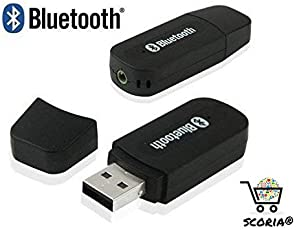 SCORIA Car Bluetooth For Honda BR-V Car Bluetooth Connector kit Player car bluetooth Adapter Dongle Car bluetooth 3.5mm Jack Aux Cable car bluetooth audio receiver car bluetooth speaker Stereo system, Car Bluetooth Earphone Hands-free USB, Led, FM Transmitter, Gadgets, Charger, Music receiver, Bluetooth Stereo Adapter Audio Receiver 3.5Mm Music Wireless Hifi Dongle Transmitter Usb Mp3 Speaker Car (Multi-Colour)