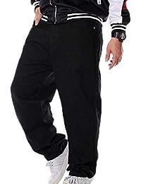 Hombres de Graffiti Vintage Hip Hop Estilo Baggy Jeans Rap Jeans c2b4b92eb850