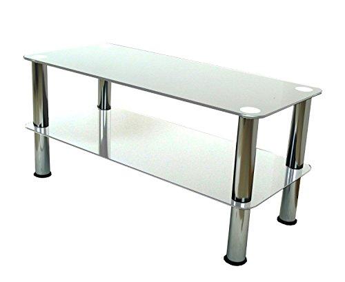 Tavolini In Vetro Porta Tv : Mountright tavolino porta tv tavolino in vetro trasparente argento