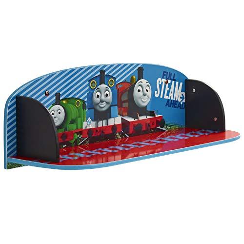 Thomas le Train 865418 Etagère Murale Bois Bleu 60 x 21 x 20 cm