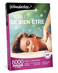 Offrez une pause détente à vos proches, à choisir parmi les 8000 massages et soins bien-être proposés dans cette box cadeau pour femme Wonderbox. Partagez ce moment de bonheur entre amies, avec votre mère, votre femme, votre sœur ou bien profitez-en ...
