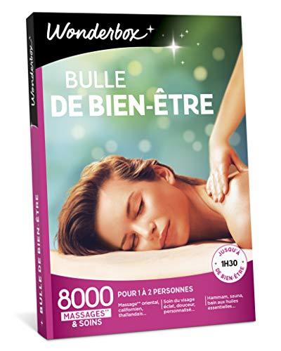 Wonderbox - Coffret cadeau Femme pour Noel - BULLE DE BIEN ETRE - 8000 massages...
