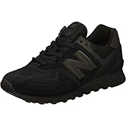 New Balance ML574ETE, basses homme - Noir (Black Black), 43 EU (9 UK)