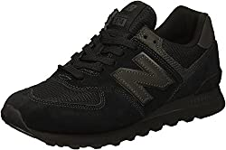 New Balance Herren 574v2 Core Sneaker, Schwarz (Black Black), 46.5 EU